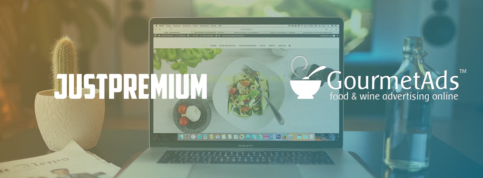 JustPremium is teaming up with Gourmet Ads