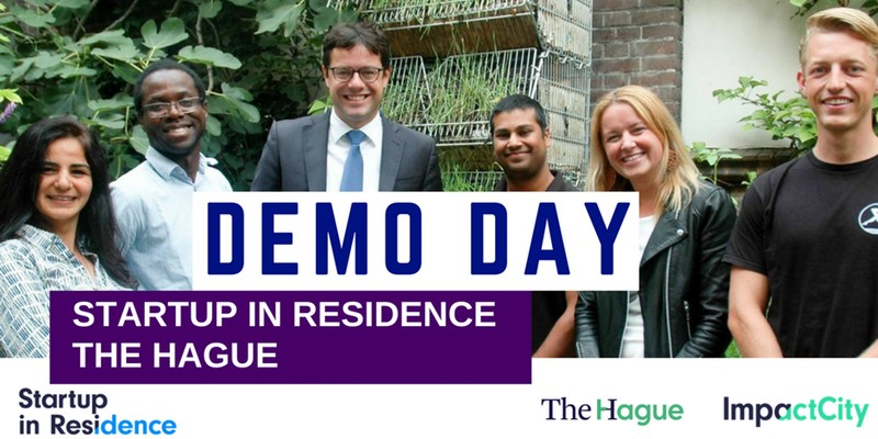 Demo Day of Startup in Residence The Hague, 19 December